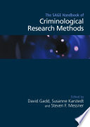 The SAGE Handbook of Criminological Research Methods