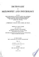 Dictionary of Philosophy and Psychology