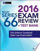 Wiley Series 66 Exam Review 2016   Test Bank