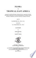 Flora of Tropical East Africa   Glossary  2003