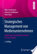 Strategisches Management von Medienunternehmen