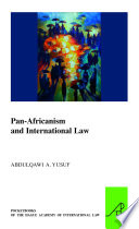 Pan Africanism and International Law