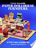 Cut And Assemble Paper Dollhouse Furniture : of paper furniture in mission oak/stickley style....