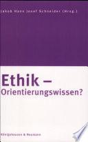 Ethik   Orientierungswissen