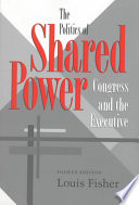 Ebook The Politics of Shared Power Epub Louis Fisher Apps Read Mobile
