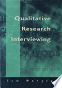 Qualitative Research Interviewing