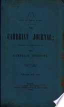 The Cambrian Journal Book PDF