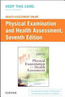 Health Assessment Online for Physical Examination and Health Assessment  Version 4 Access Code