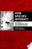 How Species Interact