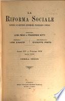 La riforma sociale