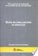 Guía de evaluación de servicios