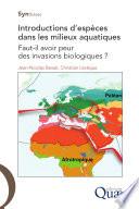 illustration Introductions d'espèces dans les milieux aquatiques