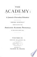 The Academy  a Journal of Secondary Education