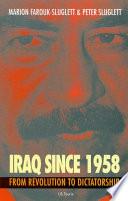 Iraq Since 1958