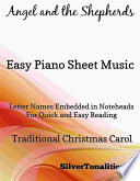 Angel And The Shepherds Easy Piano Sheet Music