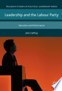 Leadership and the Labour Party
