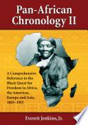 Pan African Chronology II