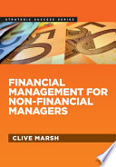 Financial Management For Non Financial Managers