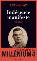 Book Indécence manifeste