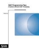 SAS Programming Tips