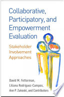 Collaborative Participatory And Empowerment Evaluation