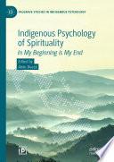 Indigenous Psychology Of Spirituality