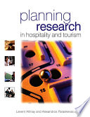 Planning Research in Hospitality   Tourism