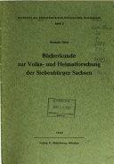 Buchreihe der Südostdeutschen Historischen Kommission