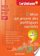 Mise en oeuvre des politiques sociales 2e   dition   Le Volum