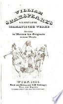William Shakspeare s saemmtliche dramatische werke   bersetzt im metrum des originals in einem bande