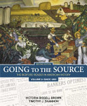 Going To The Source Volume 2 Since 1865