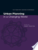 Urban Planning in a Changing World