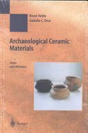Archaeological Ceramic Materials