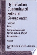 Hydrocarbon Contaminated Soils and Groundwater
