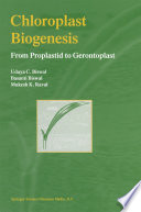 Chloroplast Biogenesis
