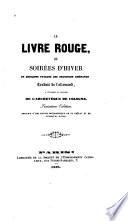 Le Livre rouge, ou Soirées d'hiver de quelques paysans des provinces rhénanes