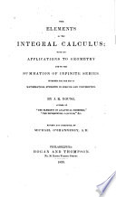 The Elements of the Integral Calculus