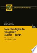 Nachhaltigkeitsvergleich Zürich — Berlin
