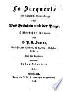 Romane  Bd  La Jacquerie  der franz  sische Bauernkrieg  oder das Fr  ulein