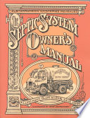 Septic System Owner s Manual