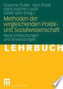 Methoden der vergleichenden Politik  und Sozialwissenschaft
