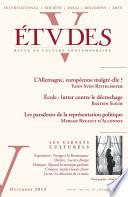 Etudes D Cembre 2013