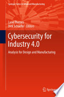 Cybersecurity For Industry 4 0