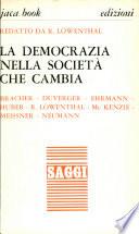 La Democrazia Nella Societa Che Cambia