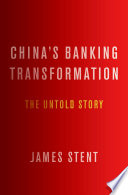 Ebook China's Banking Transformation Epub James Stent Apps Read Mobile