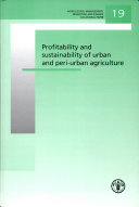 Profitability and sustainability of urban and periurban agriculture