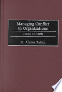 Managing Conflict in Organizations