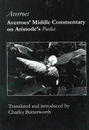 Averroes Middle Commentary On Aristotle S Poetics