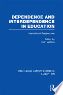 Dependence and Interdependence in Education  RLE Edu A