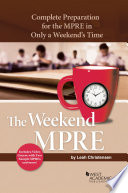 Weekend MPRE
